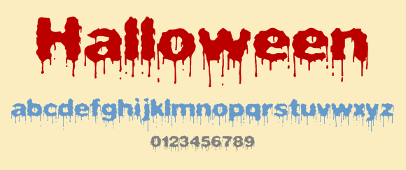 top 23 scary fonts and dingbats for halloween designs - Halloween Writing Font