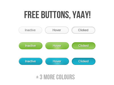 Free Buttons, Yaay!