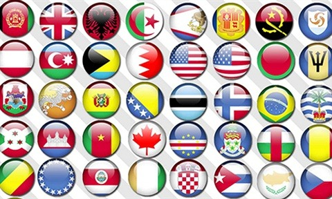 Flag Orbs of the World