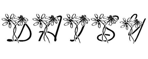 LMS Daisy Days font