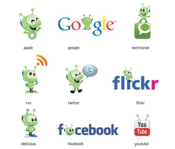 Free Social Icons – Muffy