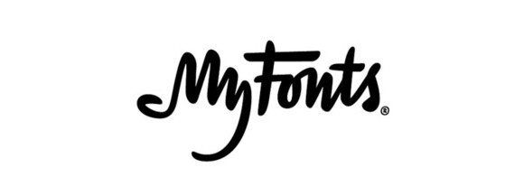myfonts logo with hidden messages