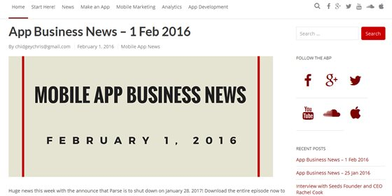 App Business Podcast