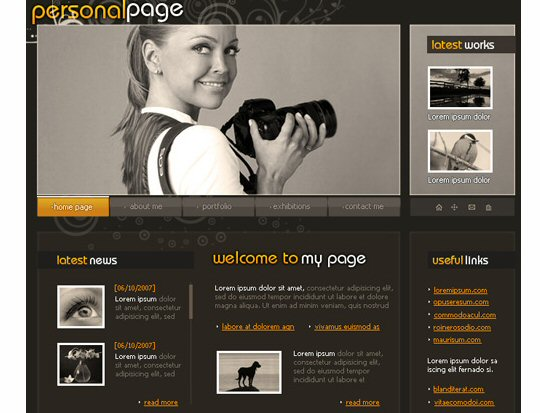 Making your own portfolio web page