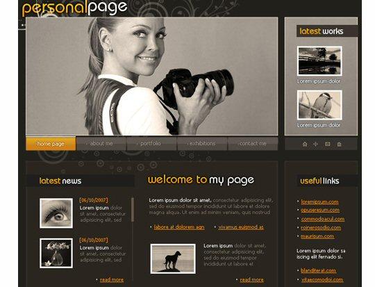 Making your own portfolio web page