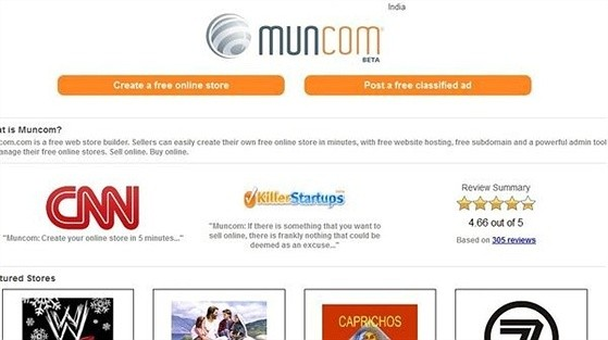 Muncom eCommerce Shopping Cart Apps for Facebook