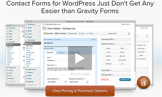 Gravity Forms (Premium) WordPress Plugin