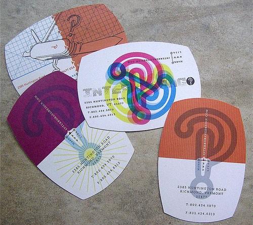 beautiful round corner card