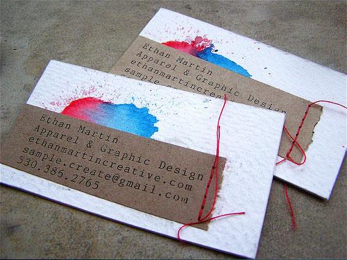 personal creative card design