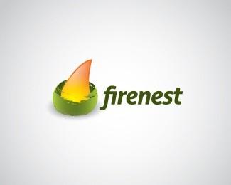 Firenest Logo Design