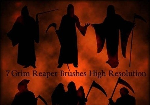 grim reaper brushes