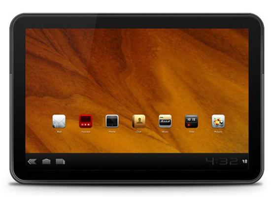 motorola xoom smart tablet in photoshop