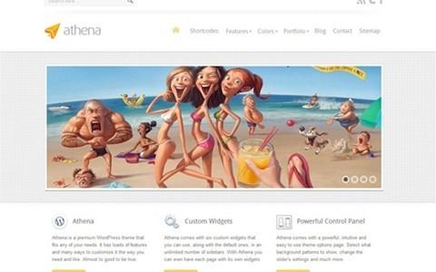 athena – business wordpress theme