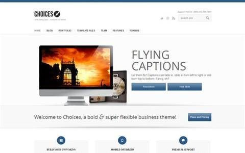 choices – responsive business and portfolio