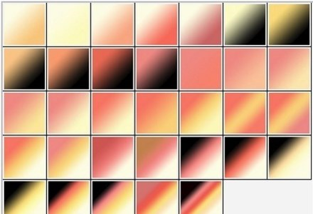 hot sunset gradients set01