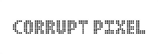 corrupt pixel