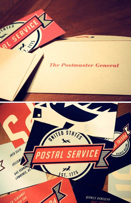 united states postal service re-branding