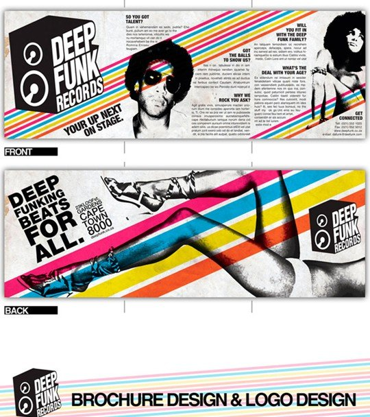 deep funk records brochure