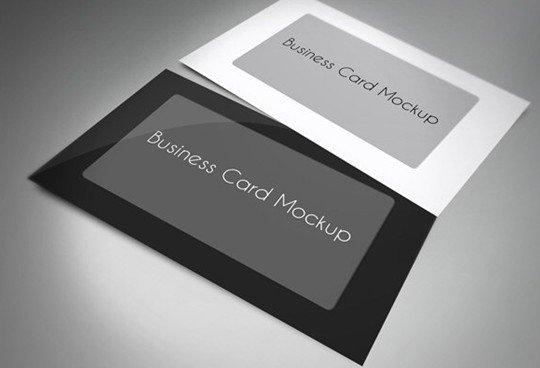 business card mock up v.2