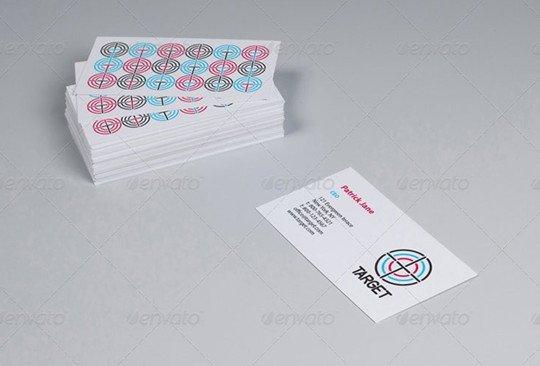 business cards studio mockup