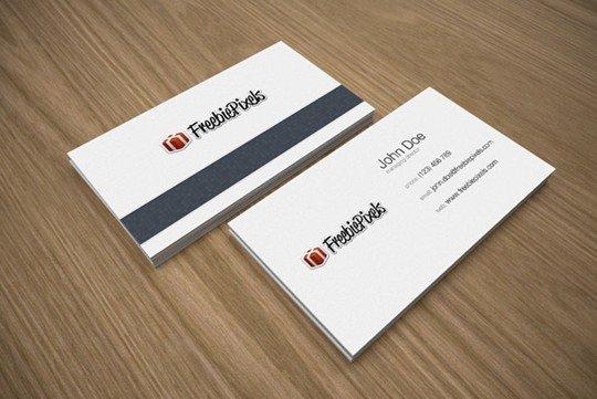 business card mockups (free)