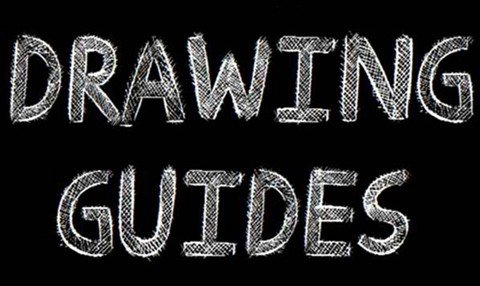 drawing guides font