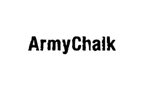 armychalk font font
