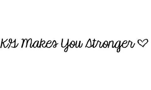kg makes you stronger font font