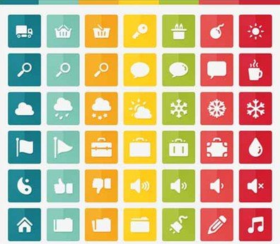 gmarellile free 150 flat icons collection