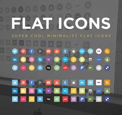flat social icons - jorge calvo