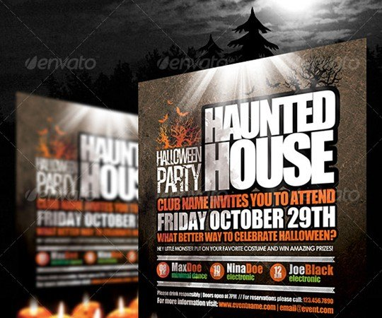 Halloween Flyer By EAMejia