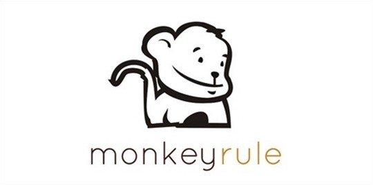 monkeyrule - logo psd file