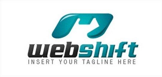 web shift logo - logo psd file