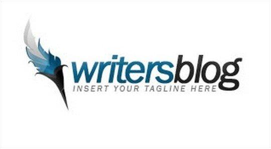 writers blog logo - logo psd file