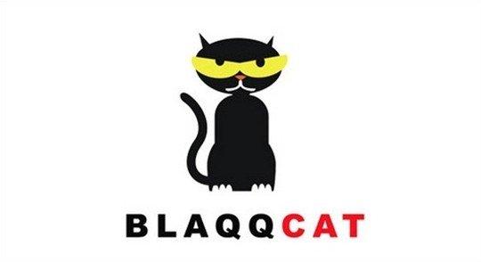 blaqq cat - logo psd file