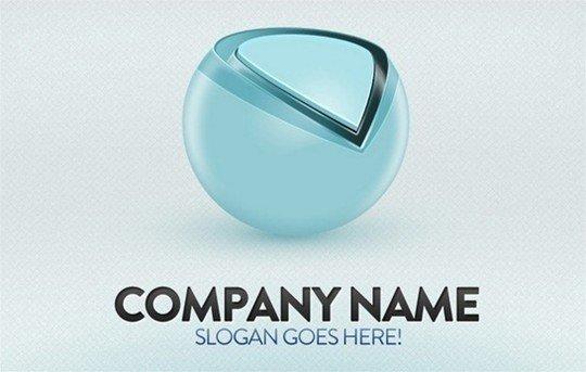 customizable logo - logo psd file
