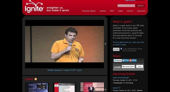 Ignite Talk Videos