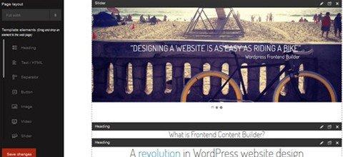 frontend builder – wordpress content asseMBler