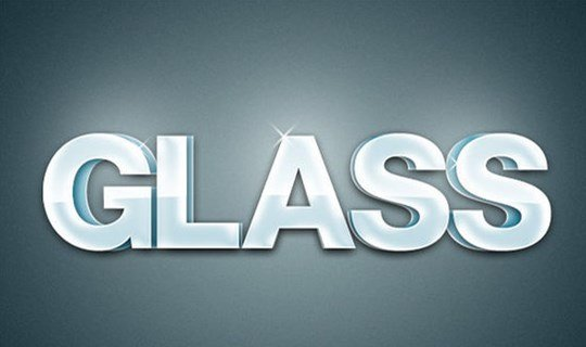 create an extruded glossy 3d text effect