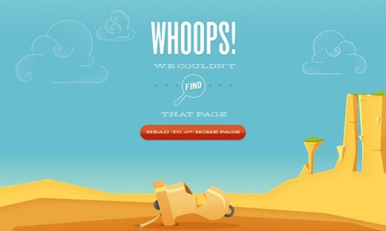 Bellstrike - 404 page designs