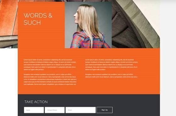 The Modern HTML Website Template