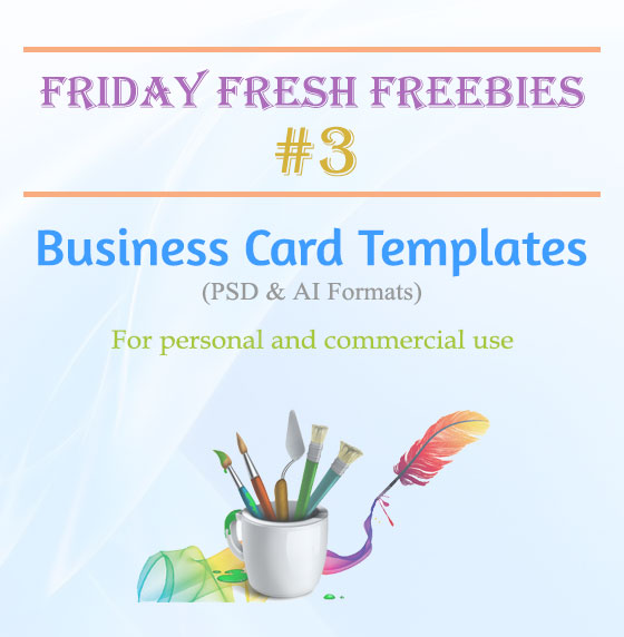 Free Business Card Mockup Templates - Friday Fresh Freebies