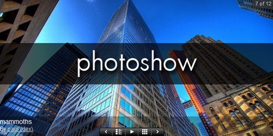 photoshow for wordpress