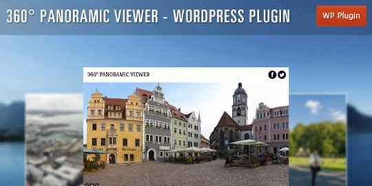 360° panoramic viewer - wordpress plugin