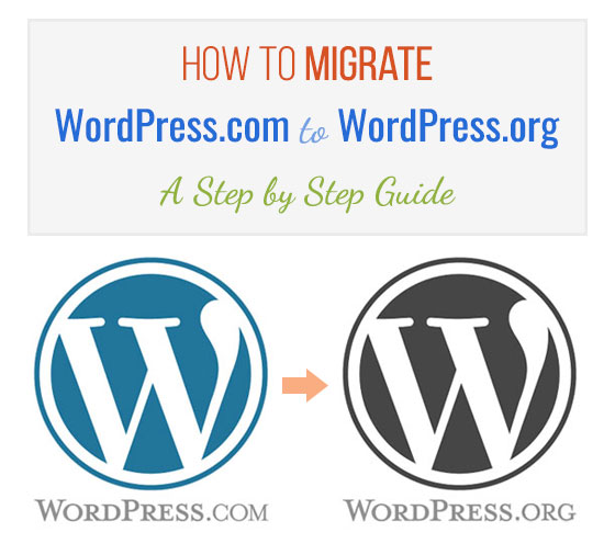 Move Your Free WordPress Site To a Self Hosted Website in 5 Easy Steps!
