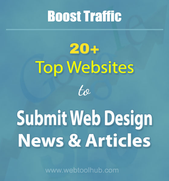 submit web design news and articles