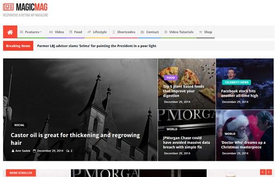 News Magic News Magazine Newspaper