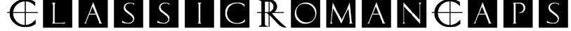 ClassicRomanCaps Font