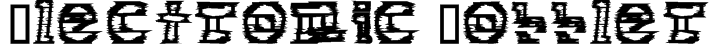 Electronic Cobbler Font