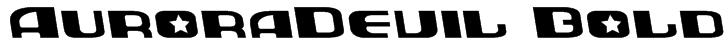AuroraDevil Bold Font